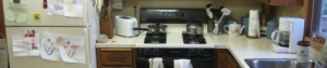 Retired couple needs a kitchen that better meets their needs and abilities.