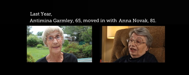 Antimina Garmley and Anna Novak talk about the benefits of shared housing.