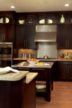 Cherry wood use is declining in kitchens.