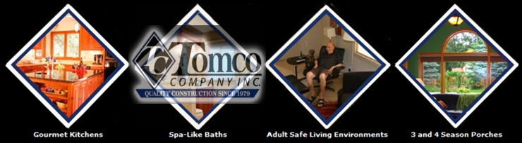 Advertisement: Tomco Company, Inc. 				Certified Aging in Place Specialists