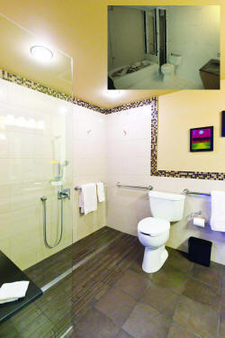 Universal Design Recognition Project honoree in Residential Bath.