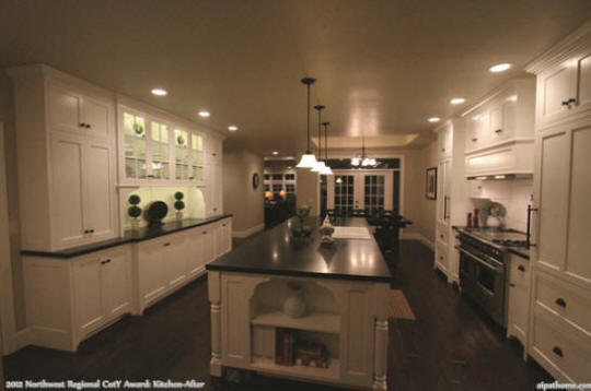 2012 NW Regional CotY Award Winner: Kitchen After universal design makeover