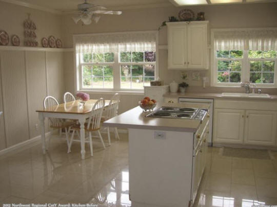 2012 NW Regional CotY Award Winner: Kitchen before universal design makeover