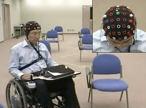 Toyota Mind Meld - Brain Wave Controlled Wheelchair