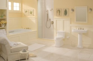 Master Spa Bath for the Baby Boomer and Beyond