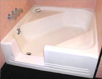 TUBCUT™ is designed to install seamlessly in garden tubs, soaking tubs, and corner tubs as well