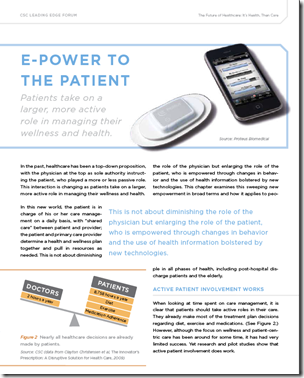 E-Power To The patient
