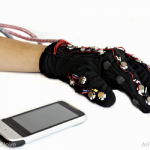 Glove That Helps Deaf/Blind Communicate Using Mobile Devices