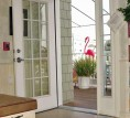 CRDA Universal Design Demonstration Home - Exterior-Power Door -open