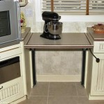 CRDA Kitchen - Adjustable Counter Tops - Lowered