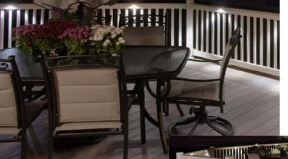 Outdoor deck lighting