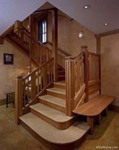 Home for the Next 50 Years - Interior-stairs