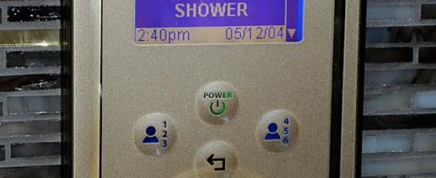 Green Mountain Ranch Accessible Guess Bathroom Kohler Shower Temperature Control