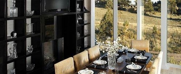 Green Mountain Ranch Interiors - Dining Room Table