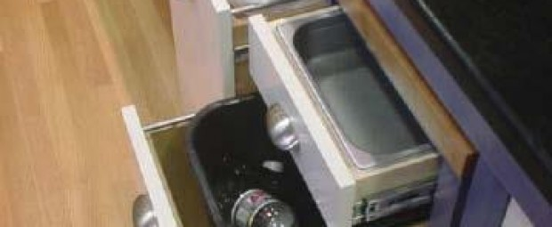 Home for the Next 50 Years - Interior-kitchen-under-counter-pull-out trash-recylcing-bins