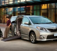Toyota Sienna Ramp Van XT Wheelchair Mini Van