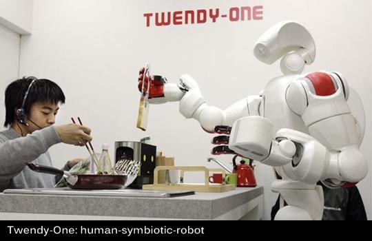 Twendy One: Human SYmbiotic Robot