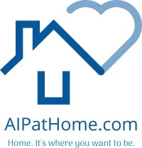 logo for aipathome.com age in place at home it's where you want to be