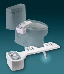 "The ""Seat Bidet"" units are a fully featured bidet built into a toilet seat."